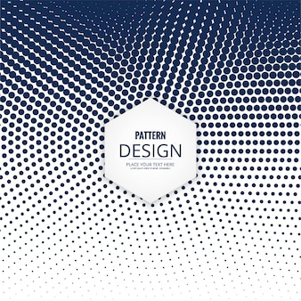 Modern halftone dots background