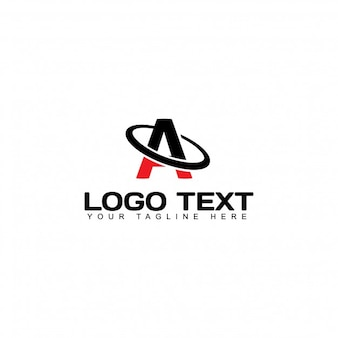 Modern logo with letter a