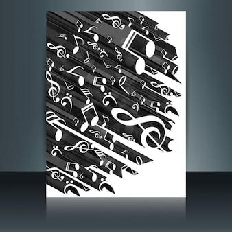 Modern music flyer