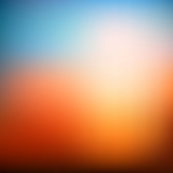 Modern orange blurred background