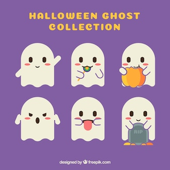 Modern pack of lovely ghosts