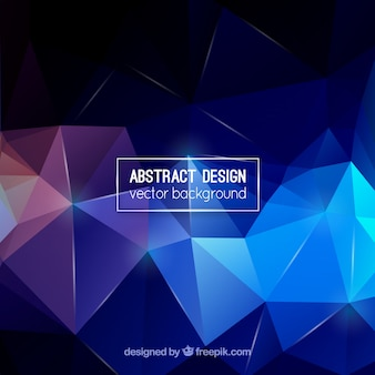 Modern polygon shape background