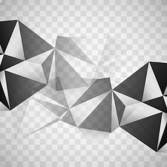 Modern polygonal background