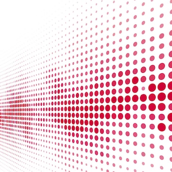 Modern red halftone background