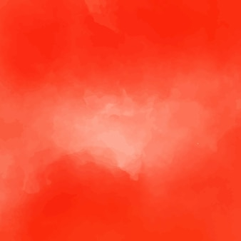 Modern red watercolor background design