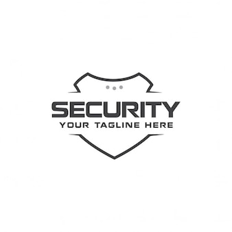 Modern security logo