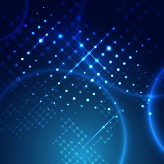 Modern technology background with an abstract lattice design