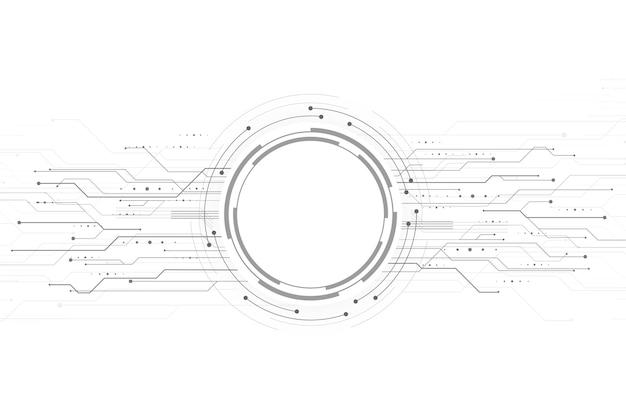 Modern technology background