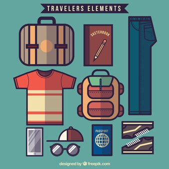 Modern traveler elements