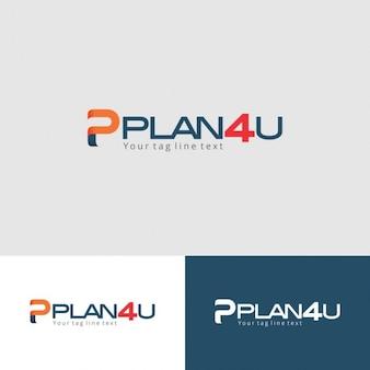 Modern typographic logo