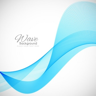Modern wavy background