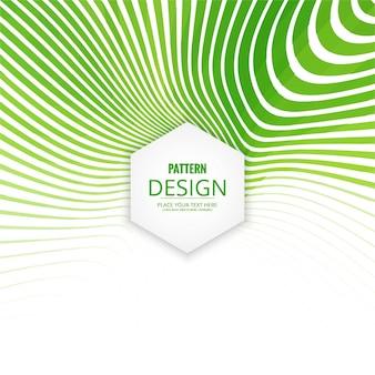 緑のカラフルなパターンの背景