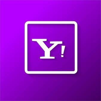 Modern yahoo icon