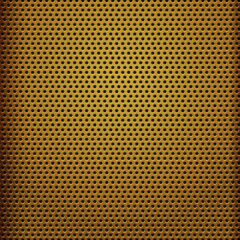 Modern yellow metal texture