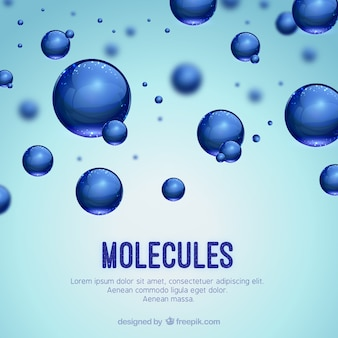 Molecules background