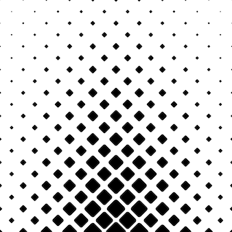 Monochromatic abstract square pattern background - geometric vector graphic design from diagonal rounded squares