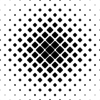 Monochrome square pattern background - geometric vector illustration