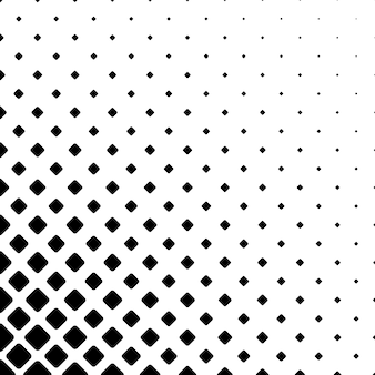 Monochrome square pattern background - geometric vector illustration