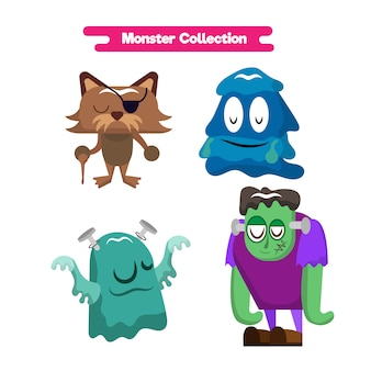 Monster design collection