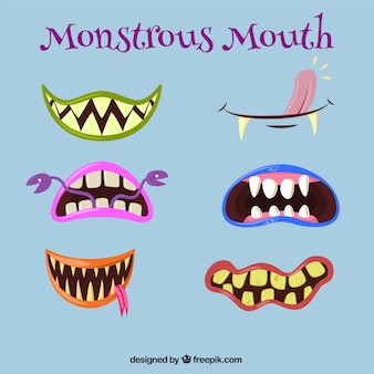 Monstrous mouths