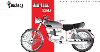 Motor bike free vector