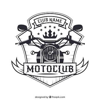 オートバイのバッジ