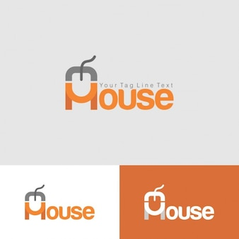 Mouse Logo Template