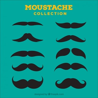 Moustache Icon Collection
