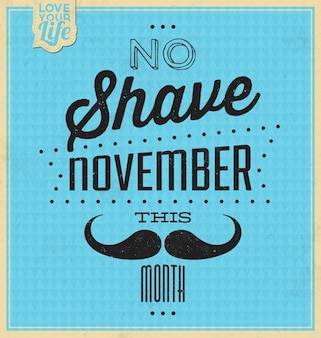 Movember background design