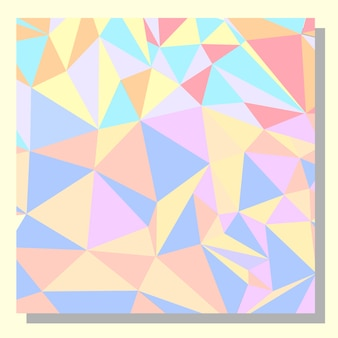 Multicolor abstract background design