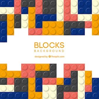 Multicolor blocks background