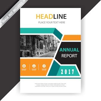 Multicolor business brochure