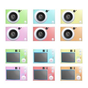 Multicolor camera collection