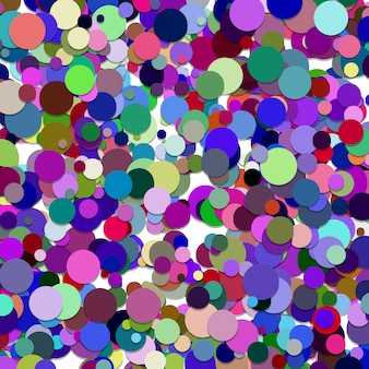 Multicolor circles background