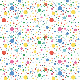 Multicolor dots pattern background