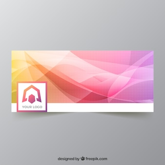 Multicolor facebook cover