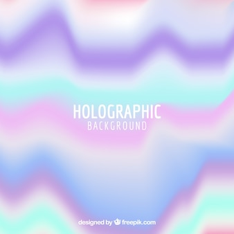 Multicolor holographic background