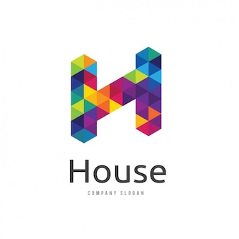 Multicolor logo template