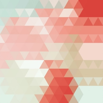 Multicolor polygonal background design