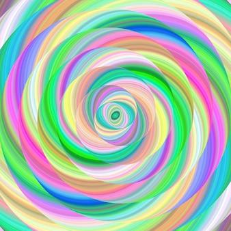 Multicolor spiral background