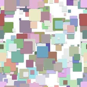 多色の四角形の背景