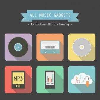 Music gadgets design