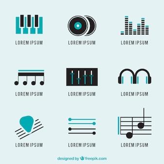 music logos pack