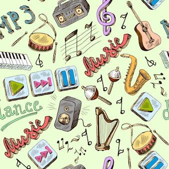Music pattern design
