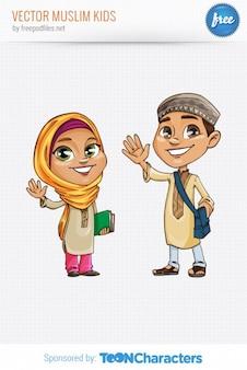イスラム教徒の人々