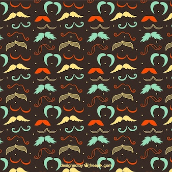 mustaches pattern