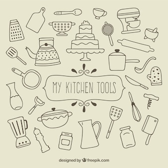 My kitchen tools