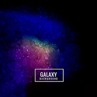 Mysterious galaxy background