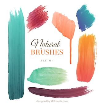 Natural brushes