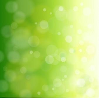 естественный зеленый фон векторной графикой